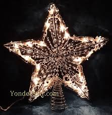 Christmas Tree Toppers by Light Up Christmas Tree Topper Christmas Lights Decoration
