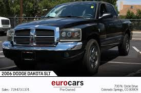 100 Used Dodge Dakota Trucks For Sale 2006 SLT Stock E1073B For Sale Near Colorado Springs