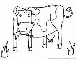 Coloriages De Vaches In Coloriage Vache Holstein Dindigulbiz