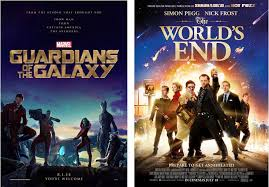 Posters With A Very Different Approach To Them One Takes Up Line The Other Significant Amount Of Page Space