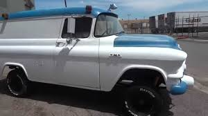 ULTRA RARE!! 1957 GMC 100 NAPCO Panel Truck With 6,700 Original ...