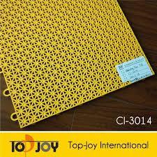 low price outdoor wear resistant yellow interlocking drainage