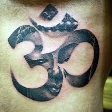 Buddha Symbol Tattoos In Cute Religious Om Tattoo On Chest For