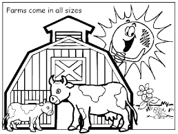Printable Coloring Pages Animals Farm 51 Animal Free
