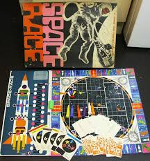 Space Race Board Game By Lotts Toys 1969