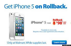 Walmart Cuts Price iPhone To $98 Ahead Expected 5S Release