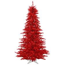 Vickerman Christmas Trees by Red Christmas Tree Lights Christmas Lights Decoration