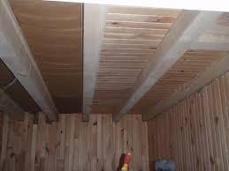 notre lambris plafond