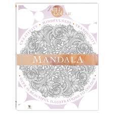 Zen Colour Mandala Book Kmart