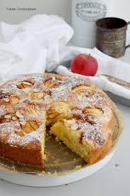 fräulein zuckerbäckerin apfelkuchen mit marzipan und zimt