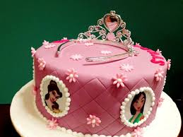 Pink Oven Cakes and Cookies Disney Princess cake