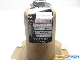 Dresser Masoneilan Pressure Regulator masoneilan 414 1 in npt 150 bronze pressure regulator valve d486781