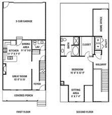 1 Bedroom Townhouse Styles