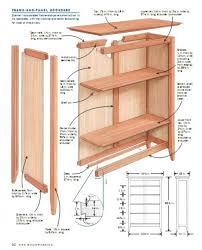 build wood bookcase plans friendly woodworking projects