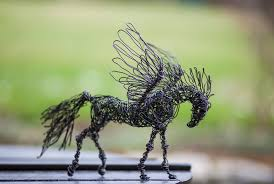 Wire Art Nir Vena Nevena Atanasova Animals Sculptures Craft Handmade Nature Etsy