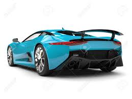 Dark Turquoise Sports Car