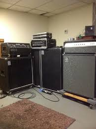 Ampeg V4 Cabinet For Bass by Ampeg V4 Bass Head And Matching Cabinet 1974 Reverb