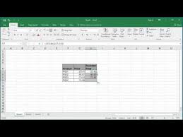 Ceiling Function Excel Example how to roundup numbers using ceiling function in excel 2016 youtube