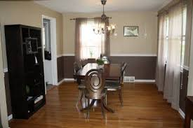 love the two tone wall with chair rail making a house a home
