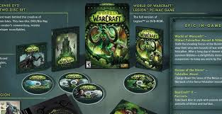 legion édition deluxe et collector world of warcraft legion