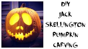 Jack Nightmare Before Christmas Pumpkin Carving Pattern by Diy Jack Skellington Pumpkin Carving Allie Young Youtube