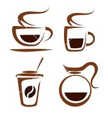 Set Of Coffee Cups Icons Vector By Baldyrgan
