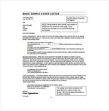 Free Cover Letter Examples For Resume Best Examples Cover