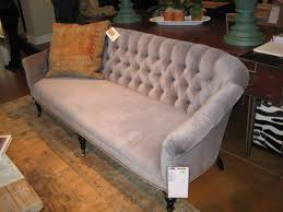 Tufted Velvet Sofa Furniture by Earth Friendly Upholstery By Lee Industries High Fashion Home Blog