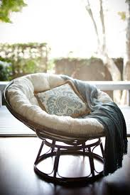Pier One Rocking Chair Cushions by Bedroom Enjoyable Rattan Papasan Chair In Rocking Chair Design