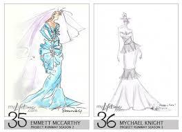 18 Royalty Wedding Dress Design Sketch Ideas For