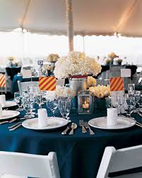 Cobalt Blue Wedding Centerpieces