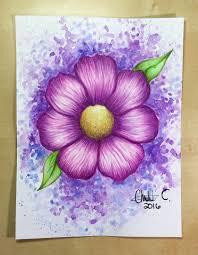 Easy Watercolor Pencil Drawings Drawing Art Ideas