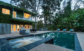 100 Hollywood Hills Houses Jared Letos Home With Lagoon Style Pool In The Is