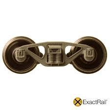 100 Trucks Wheels Model Train HO Scale 50 Ton Barber ExactRail ExactRail