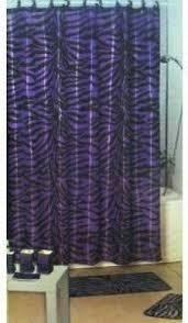 zebra shower curtain set foter