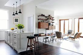 Harmonious Open Kitchen To Dining Room by Open Kitchen With Adjoining Room Interior Design Ideas Ofdesign