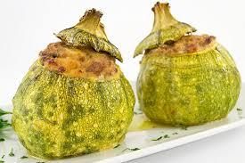 cuisiner courgette ronde recette courgettes rondes farcies aux deux viandes