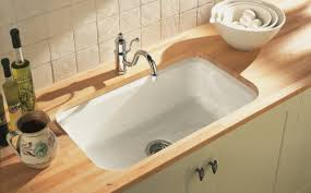 kohler riverby undermount kitchen sink kohler cast iron single bowl kitchen sinks sinks ideas