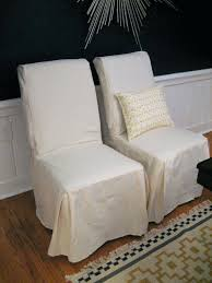 Interesting White Parsons Chair Brown Dining Room Covers