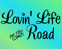 Lovin Life On The Road RV Decal