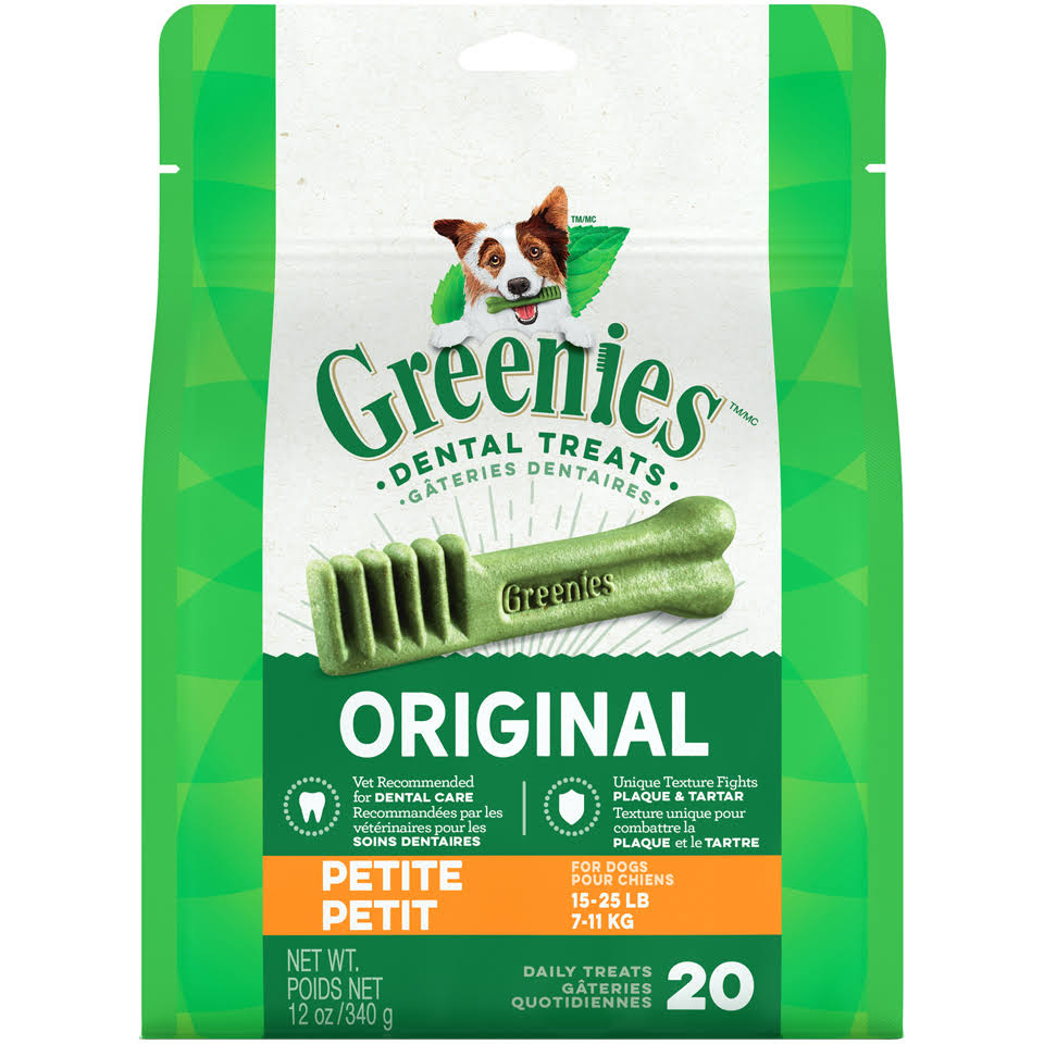Greenies Treat-Pak for Dogs - 12oz, Petite