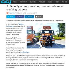 CCJ Magazine Features A. Duie Pyle Program - Aria Logistics A Duie Pyle West Chester Pa Company Review Southern Pride Trucking Inc San Diego Ca Rays Truck Photos Pypeople Twitter Search 34 Million Truckers Honored As Driver Appreciation Week On A New Generation Of Employees And Leaders Cra Landing Nj Program Helps Women Advance Trucking Careers Simplified Logistics Simplifiedllc Brian Singelais Wins Superbowl Cdl Cerfication Archives Progressive Driving School Mass Pike Crash Idles Commuters News Metrowest Daily