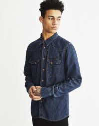 how to wear double denim the idle man