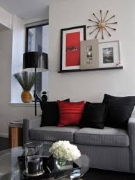 Red And Black Living Room Decorating Ideas by Home Design Asian Inspired Living Room Decorating Ideas