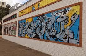 Deep Ellum Wall Murals by New Music And Arts Venue Deep Ellum Art Co Will Open Sept 1