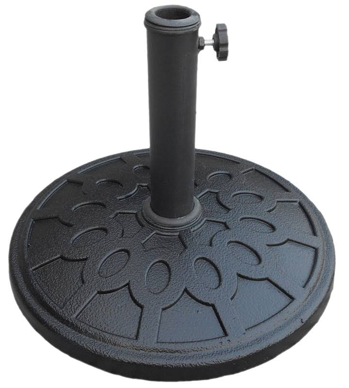 Seasonal Trends 69327 Umbrella Base, Black