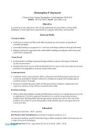 Soft Skills For Resume Cv Example Yeniscale