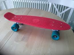 Genuine Penny Board Red With Blue Wheels And White Trucks In Great ... Messon 10 Colors Skateboard Truck Longboard Libertyfl Penny Vs Globe Bantam Stereo Vinyl Cruiser Fish Mayhem Abstract Mini 22in Skateboard Pennyboard Laser Flip Truck Snap Youtube Genuine Board Red With Blue Wheels And White Trucks In Great Lemon Pastel Series 3 Inch Pair Of Trucks 180mm Atlas Ultralight Purple Longboard 3inch Sandblasted 3699 Colorful Skateboard Accessory Set Velkoobchod 2pcs 325 Anchor Shape For 27 Nickel Midnight Blackgreen Complete