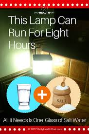 Paraffin Lamp Oil Toxic by Filipino Invents Salt Lamp That Runs On Salt Water