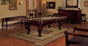Detailed Short Of A Billiards Table